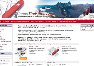 Gimmetheknife.com
