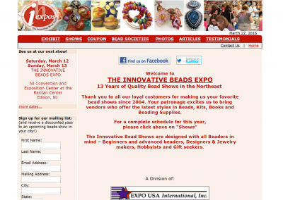 Expo Bead Shows